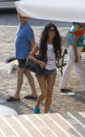 Pamela Prati - Capri - 14-06-2014 - Vacanze vip a Capri: tra tennis, spiaggia e passeggiate