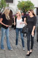 Tiziana Rocca, Melanie Griffith - Taormina - 16-06-2014 - Melanie Griffith, in Italia per dimenticare Antonio Banderas