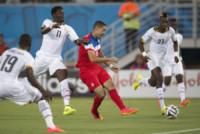 Sulley Muntary, Clint Dempsey - Natal - 16-06-2014 - Brasile 2014: gli Stati Uniti esordiscono con il Ghana