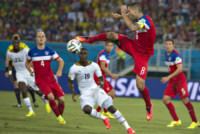 Jonathan Mensah, Clint Dempsey - Natal - 16-06-2014 - Brasile 2014: gli Stati Uniti esordiscono con il Ghana
