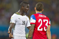 DEANDRE YEDLIN, Jonathan Mensah - Natal - 16-06-2014 - Brasile 2014: gli Stati Uniti esordiscono con il Ghana