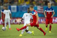 Sulley Muntary, Aron Johannsson - Natal - 16-06-2014 - Brasile 2014: gli Stati Uniti esordiscono con il Ghana