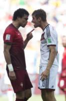 Thomas Mueller, Pepe - SALVADOR - 16-06-2014 - Brasile 2014: la Germania stende il Portogallo