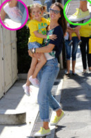 Anja Louise, Alessandra Ambrosio - West Hollywood - 12-06-2014 - Le scarpe preferite di Kate Middleton? Sono italiane