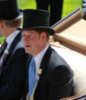 Principe Harry - Ascot - 17-06-2014 - Royal Ascot: tanto di cappello al principe Harry!