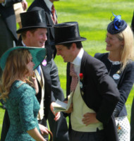 Principessa  Beatrice di York, Principe Harry - Ascot - 17-06-2014 - Royal Ascot: tanto di cappello al principe Harry!