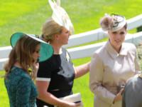 Principessa  Beatrice di York, Principessa Eugenia di York, Zara Phillips - Ascot - 17-06-2014 - Royal Ascot: tanto di cappello al principe Harry!