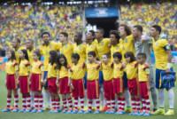 The football team of BRAZIL - Fortaleza - 17-06-2014 - Brasile 2014: il Brasile pareggia a sorpresa con il Messico