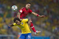 William, Marco Fabian - Fortaleza - 17-06-2014 - Brasile 2014: il Brasile pareggia a sorpresa con il Messico