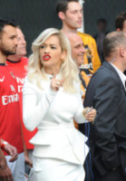 Rita Ora - Londra - 14-05-2014 - Paperino e… Paperini: ottant'anni di duck faces!