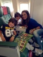 figli, Alena Seredova - Milano - 18-06-2014 - Alena Seredova in partenza per il Brasile
