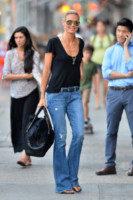 Heidi Klum - New York - 18-06-2014 - Corsi e ricorsi fashion: dagli anni '70 ecco i pantaloni a zampa