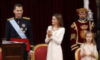 Principessa Leonor di Borbone, Re Felipe di Borbone, Letizia Ortiz - Madrid - 19-06-2014 - Felipe VI è il nuovo re di Spagna: trasparenza per la Corona