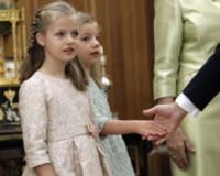 Principessa Leonor di Borbone, Principessa Sofia - Madrid - 19-06-2014 - Felipe VI è il nuovo re di Spagna: trasparenza per la Corona
