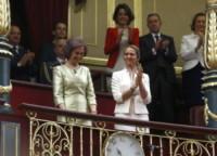 Infanta Elena di Borbone, Sofia di Spagna - Madrid - 19-06-2014 - Felipe VI è il nuovo re di Spagna: trasparenza per la Corona