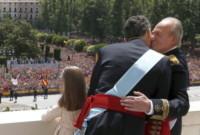 Principessa Leonor di Borbone, Juan Carlos  di Spagna, Re Felipe di Borbone - Madrid - 19-06-2014 - Felipe VI è il nuovo re di Spagna: trasparenza per la Corona