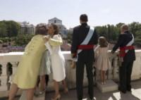 Principessa Leonor di Borbone, Juan Carlos  di Spagna, Re Felipe di Borbone, Sofia di Spagna, Letizia Ortiz - Madrid - 19-06-2014 - Felipe VI è il nuovo re di Spagna: trasparenza per la Corona