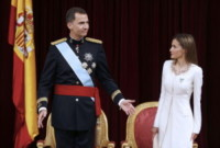 Re Felipe di Borbone, Letizia Ortiz - Madrid - 19-06-2014 - Felipe VI è il nuovo re di Spagna: trasparenza per la Corona