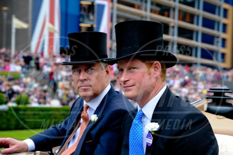 Price Harry, Duke of York, Principe Andrea Duca di York - Ascot - 19-06-2014 - Royal Ascot giorno tre: teste di mille forme e colori