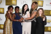 Danielle Brooks, Laverne Cox, Uzo Aduba, Natasha Lyonne, Laura Prepon - Beverly Hills - 19-06-2014 - Laverne Cox fa la storia: è la prima trans nominata agli Emmy