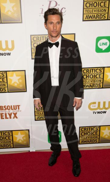 Matthew McConaughey - Los Angeles - 19-06-2014 - Matthew McConaughey, a ogni evento il suo colore