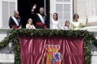 Principessa Leonor di Borbone, Juan Antonio Bayona, Re Felipe di Borbone, Sofia di Spagna, Principessa Sofia, Letizia Ortiz - Madrid - 19-06-2014 - Felipe VI è il nuovo re di Spagna: trasparenza per la Corona