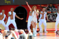 Jennifer Lopez - Manhattan - 20-06-2014 - Jennifer Lopez a Central Park è una forza della natura
