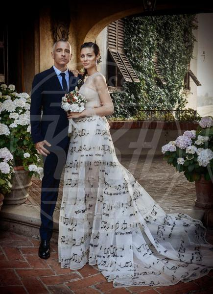 Marica Pellegrinelli, Eros Ramazzotti - 21-06-2014 - Chiara Ferragni e Marica spose, chi lo indossa meglio?