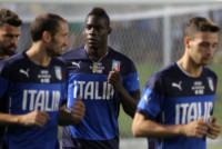 Andrea Barzagli, Giorgio Chiellini, Mario Balotelli - Natal - 21-06-2014 - Stangata della Fifa a Suarez per il morso a Chiellini