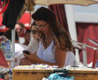 Alba Parietti - Lecce - 21-06-2014 - Gli smartphone influenzeranno l'evoluzione dell'uomo