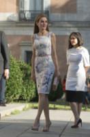 Letizia Ortiz - Madrid - 23-06-2014 - Mini o longuette, ma pieno di fiori: è l'abito della primavera!