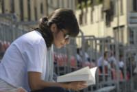Alessandra Mastronardi - Firenze - 18-06-2014 - Leggere, che passione! Anche le star lo fanno!