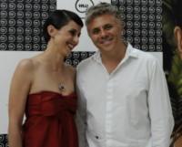 SUSY LAUDE, Dino Abbrescia - Roma - 13-06-2014 - Passerella di VIP per i nuovi gioielli Cosmoos