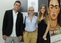 Carolina Rey, Attilio Fontana - Roma - 13-06-2014 - Passerella di VIP per i nuovi gioielli Cosmoos
