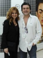 Angelo Maresca, Debora Caprioglio - Roma - 13-06-2014 - Passerella di VIP per i nuovi gioielli Cosmoos