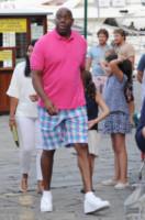 Magic Johnson - Portofino - 24-06-2014 - Samuel L. Jackson e Magic Johnson: i gemelli