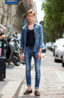 Jannis - Milano - 24-06-2014 - Milano Moda Uomo: quando la passerella è en plein air…