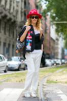Elina Halimi - Milano - 24-06-2014 - Milano Moda Uomo: quando la passerella è en plein air…
