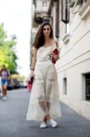 Diletta Bonaiuti - Milano - 24-06-2014 - Milano Moda Uomo: quando la passerella è en plein air…
