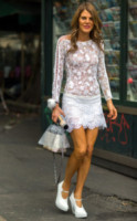 Anna Dello Russo - Milano - 24-06-2014 - Anche l'inverno si tinge di romanticismo con il pizzo