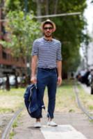 Hugo Rotondo - Milano - 24-06-2014 - Milano Moda Uomo: quando la passerella è en plein air…
