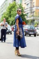Tina Leung - Milano - 24-06-2014 - Milano Moda Uomo: quando la passerella è en plein air…