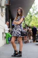 ZINA CHARKOPLIA - Milano - 24-06-2014 - Milano Moda Uomo: quando la passerella è en plein air…