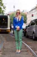 Sarah Ann Murray - Milano - 24-06-2014 - Milano Moda Uomo: quando la passerella è en plein air…