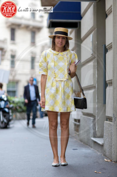Dorana Decarolis - Milano - 24-06-2014 - Milano Moda Uomo: quando la passerella è en plein air…
