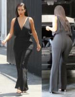 Kim Kardashian - Los Angeles - 26-06-2014 - Vade retro abito! Kim Kardashian tradita dalla tuta