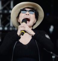 Yoko Ono Plastic Ono Band - Glastonbury - 29-06-2014 - Glastonbury: Cressida Bonas, da principessa a punk-girl
