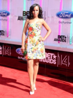 Kerry Washington - Los Angeles - 29-06-2014 - Il minidress floreale per sentirsi una jeune fille en fleur