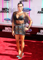 Laura Govan - Los Angeles - 29-06-2014 - Ai BET Awards le star si sfidano a colpi di decolletè