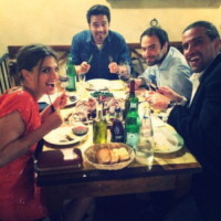 Brett Dalton, Stana Katic - Firenze - 02-07-2014 - Hollywood in Italia: il backstage di The Tourist visto dal web